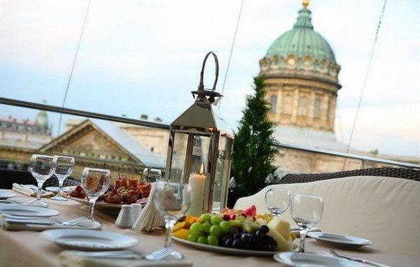 Панорамные рестораны Петербурга.