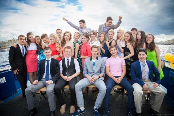 Петербургские школьники самостоятельно организовали себе выпускной
