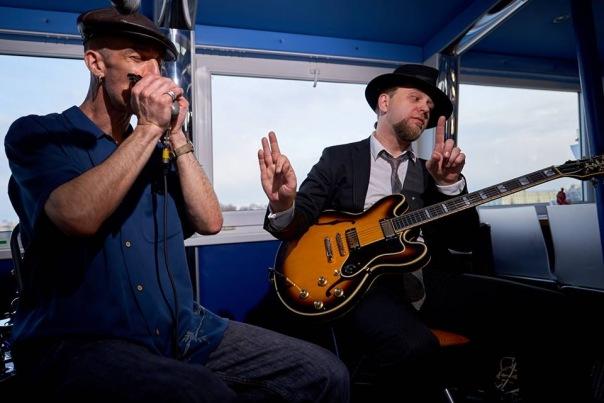 «Blues & Views» Музыкальный рейс в теплой кают компании.