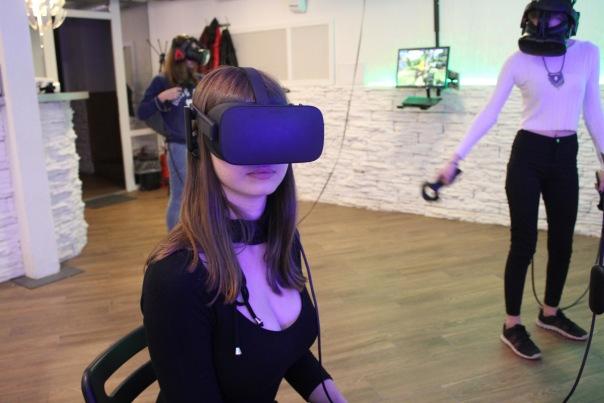 Виртуальная реальность в Питере.