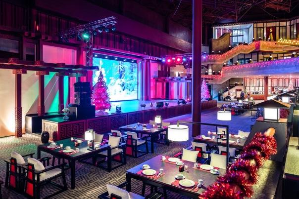 Большой Новый Год 2018 в Большом ресторане Цинь