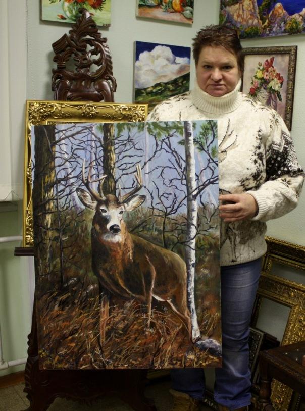 Тематические мастер-классы по живописи маслом со скидкой -30%