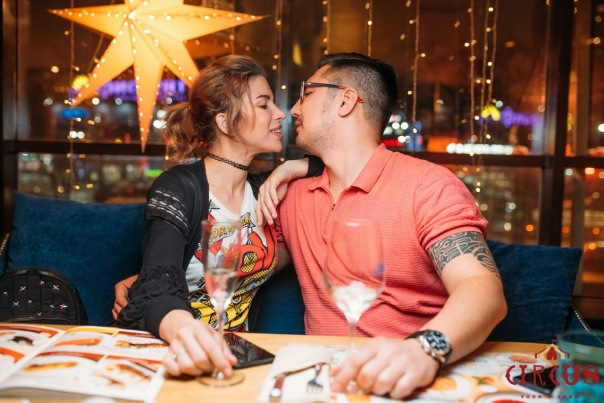День Святого Валентина в ресторане Circus