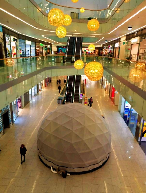 Сферический кинотеатр Киносфера 360 открылся в Петербурге.
