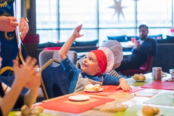 Детский мастер-класс в ресторане Circus