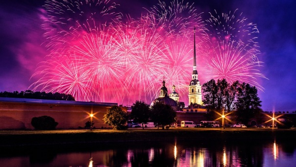 День Города Санкт-Петербурга, Нева, Салют, ROCK-N-GIRLS