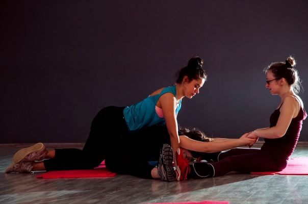 Интенсивный фитнес курс с Полиной Пономаревой по растяжки, гибкости и коррекции лишнего веса!