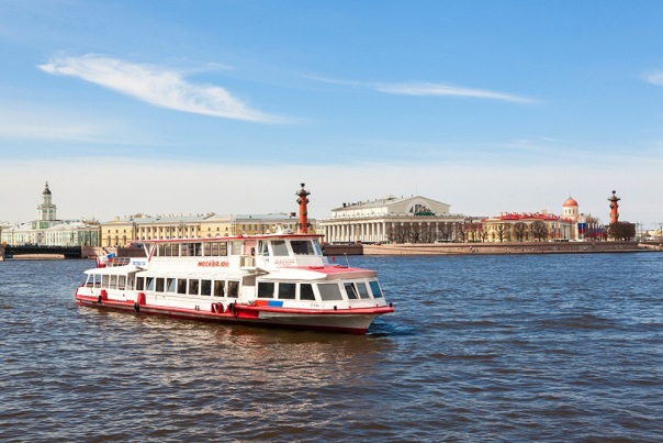 Свадьба на теплоходе в Санкт-Петербурге