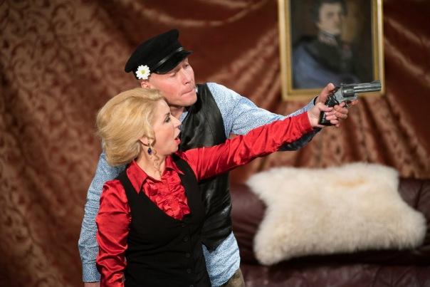 Спектакль «Медведь и шутки о любви». А. П. Чехов.