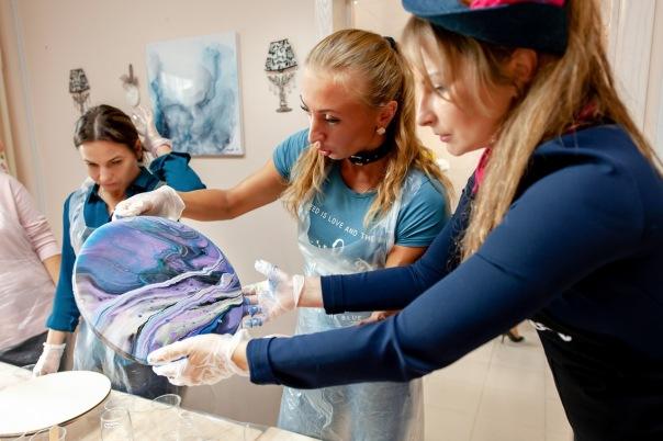 В Петербурге открылась художественная студия по интерьерной живописи