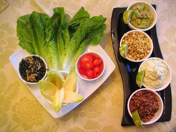 Рестораны Петербурга со здоровой пищей