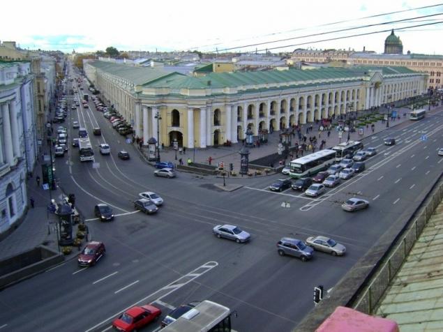 Интересный маршрут от Невского Проспекта до Гостиного двора