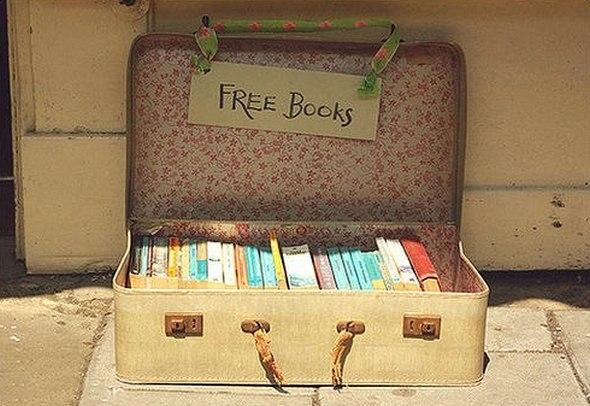 10 мест в Петербурге, где бесплатно раздают книги