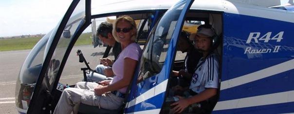 Полет на вертолёте в СПб