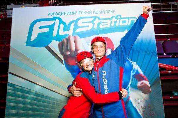 Полет во второй по величине аэротрубе в России в Питере