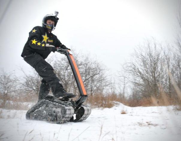 Прокат мотовездехода Dtv Shredder в Санкт-Петербурге