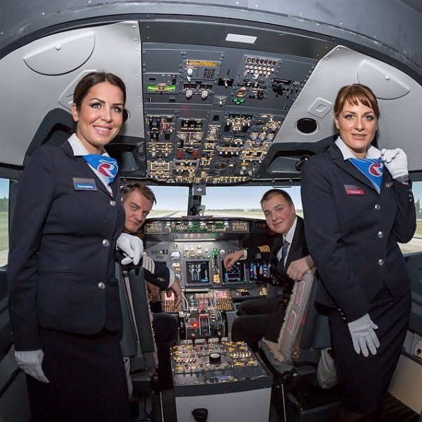 Полет за штурвалом Boeing 737. Авиатренажер в СПб