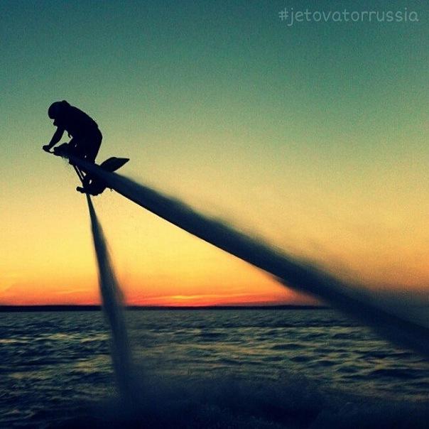 Полет на гидробайке Jetovator / Джетоватор в СПб