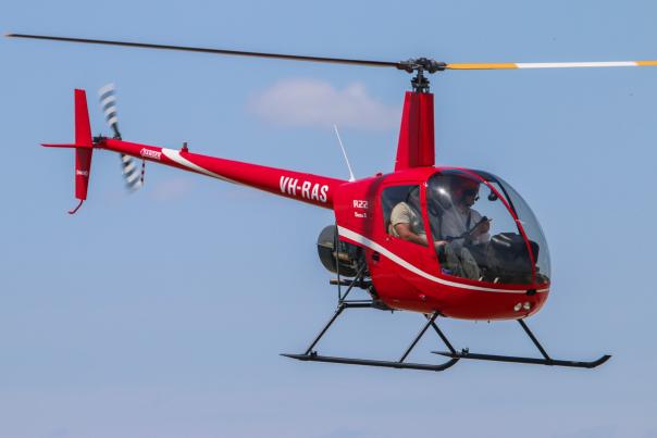 Полет на двухместном вертолете Robinson R22