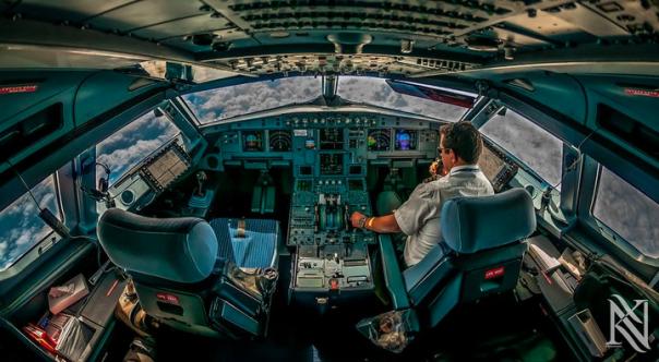 Полет за штурвалом Boeing 737 NG
