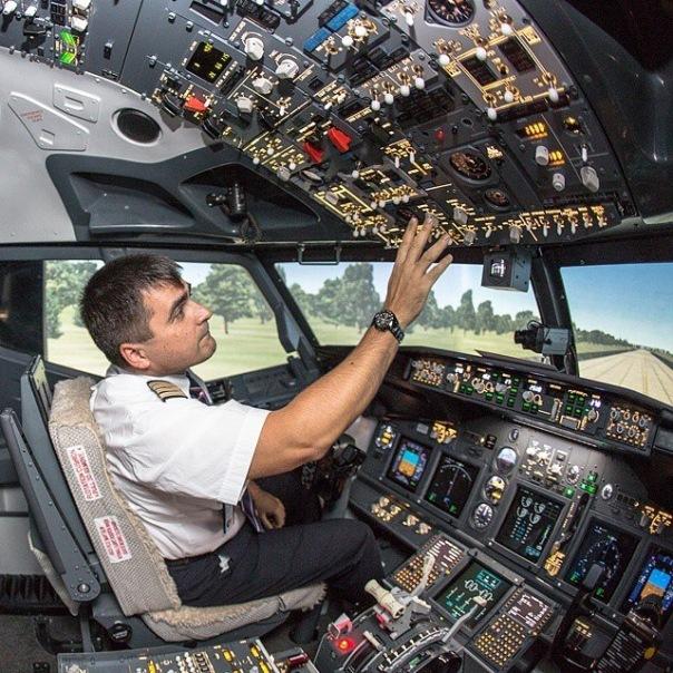 Полет на авиасимуляторе Boeing 737-NG