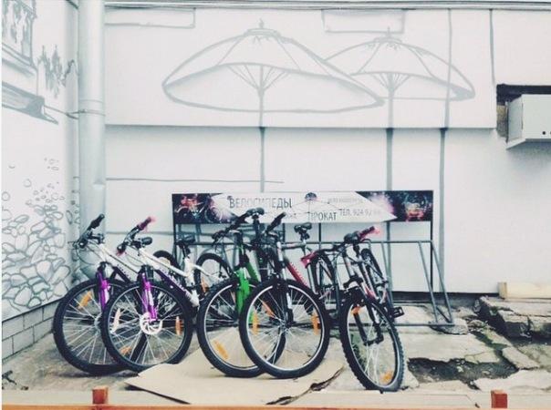 Круглосуточный прокат велосипедов в Санкт-Петербурге от хостела Graffiti L