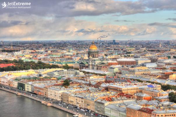 33 лучших способа увидеть Санкт-Петербург с высоты