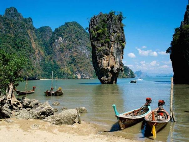 Залив Пхангнга, Таиланд