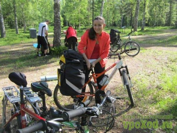 Велосипедные маршруты по Ленинградской области