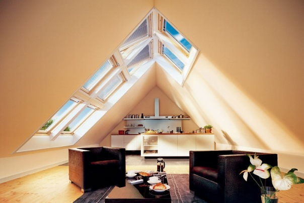 Мансардные окна и их преимущества