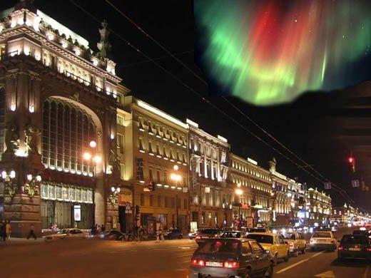 12 сентября Петербуржцы смогут наблюдать северное сияние