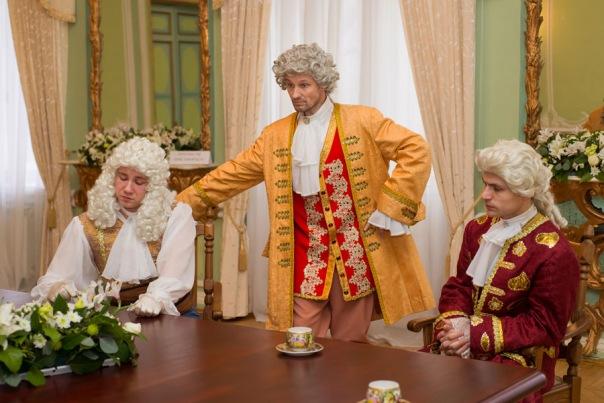 Театрализованные экскурсии и вечера русского романса в Особняке военного министра графа Милютина.