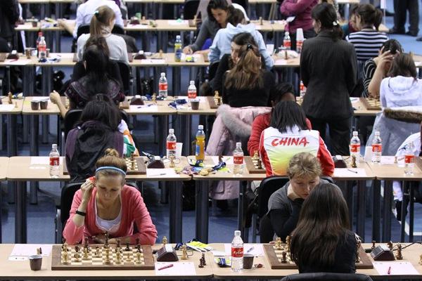 Женская сборная России выиграла Всемирную Шахматную Олимпиаду