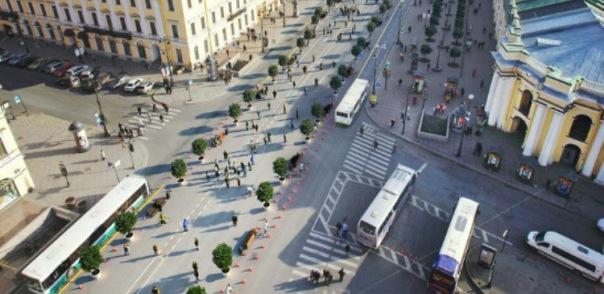 Полтавченко планирует сделать въезд в центр Петербурга платным