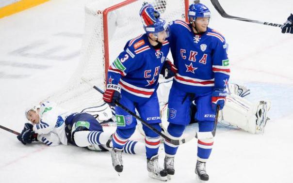 СКА одержал восьмую победу подряд и установил новый рекорд КХЛ