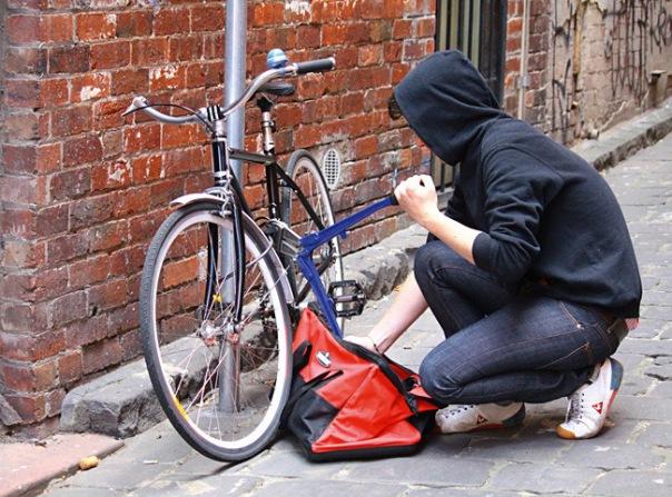В Калининском районе задержали велосипедного вора