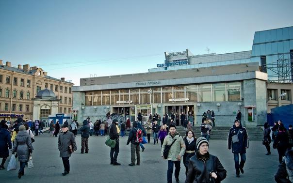 Сенную площадь реконструирует Балтстрой за 1,2 млрд рублей