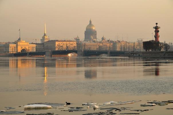 В Петербурге к концу октября потеплеет до +10 градусов