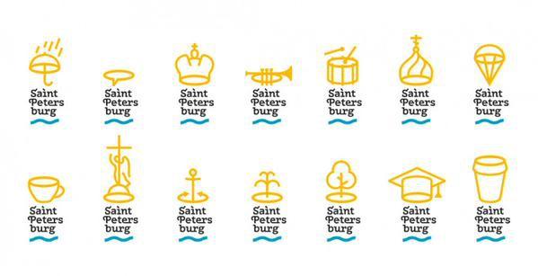 Студия Артемия Лебедева разработала новый логотип Санкт-Петербурга