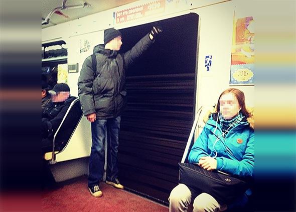 Казус в петербургском метро