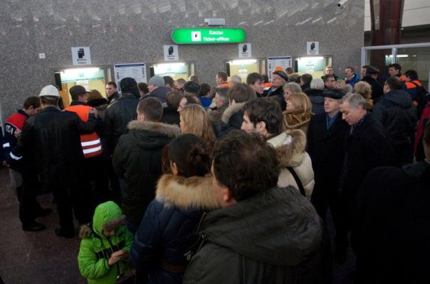 Жетонный психоз охватил Петербург