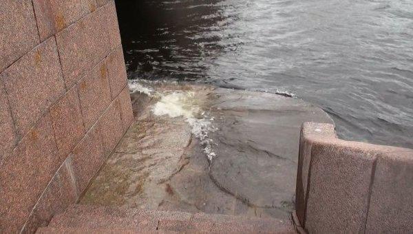 В Петербурге из-за угрозы подтопления готовы закрыть створы дамбы