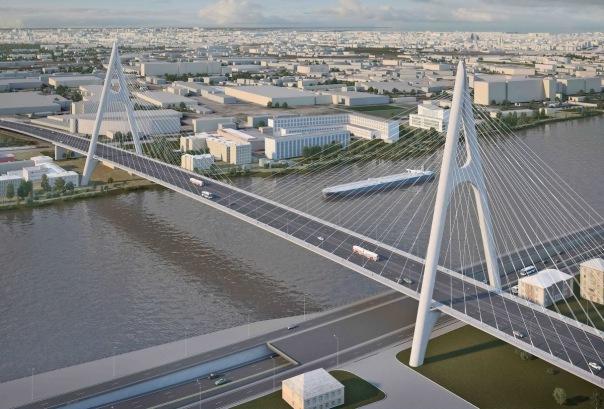 Каким будет выглядеть новый мост в створе Коллонтай