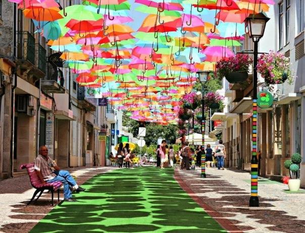 Улица парящих зонтиков этим летом появится в городе
