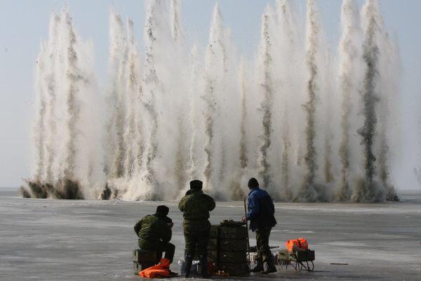 В Ленобласти будут взрывать лед