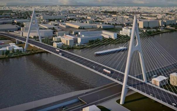 Подведены итоги голосования по вопросу строительства моста в створе Большого Смоленского проспекта