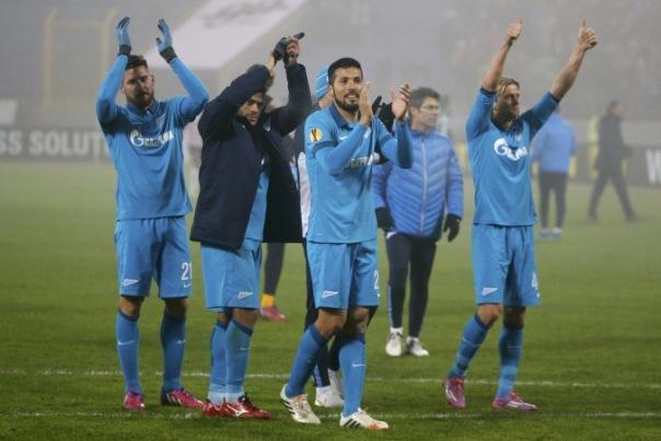 Зенит пробился в четвертьфинал Лиги Европы, выстояв в Турине