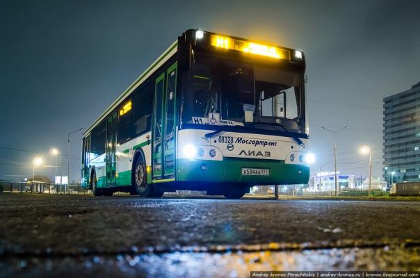 Ночные автобусы начнут курсировать в Петербурге с 12 апреля