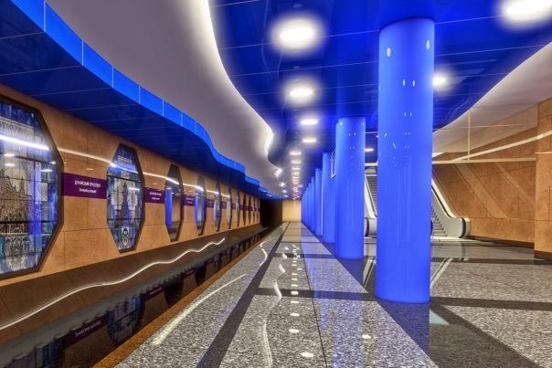 Смольный утвердил внешний вид станции метро Дунайская