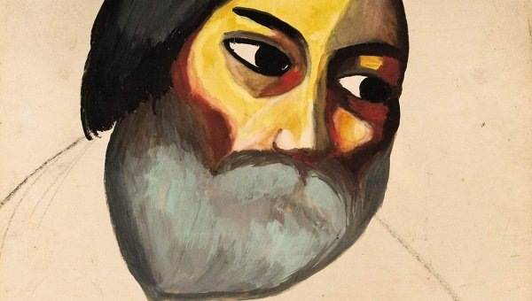 Картина Голова крестьянина Малевича привезена в Петербург